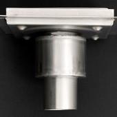 pilette con scarico verticale in acciaio inox